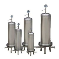 Micro porous membrane filter, made of stainless steel