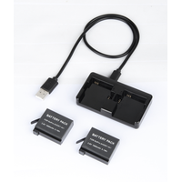 Gopro AHDBT-501 Camera USB Charger for Gopro 5 6 thumbnail image