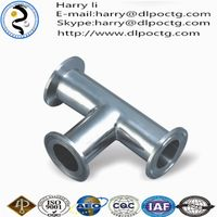 steel pipe for structure pipe fitting barred tee