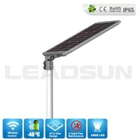 CE RoHS 30w All in One LED Solar Street Light Manufacturer,Prices Of Solar Street Lights