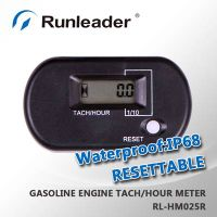 RL-HM025R Digital Gasoline Engine Tachometer Hour Meter Used For Motorcycle/ATV/Dirt Bike/Motocross/