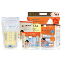 Perfection Breast milk storage bags With thermochromic indicator 200ml 120pcs