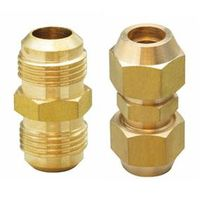 Brass Flare Union (brass fitting, brass union)