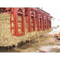Straw bundles grab crane
