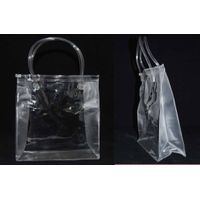 heat sealed bag - PVC bag - 3 pcs cuttings - 3 sides gusset - ziplock, tube handle thumbnail image