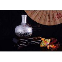 Silver Craft Round vase