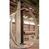 Ring Stiffness Testing machine with electronic ring loader for DN1000-4000mm GRP Pipe