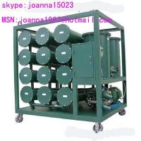 waste transformer oil purifier with a regeneration device thumbnail image