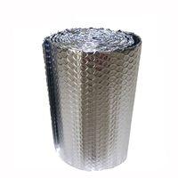 Aluminum Laminated Bubble Wrap Roof Insulation Metalized Aluminum Foil Film