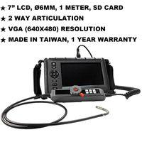 "JKVS-60012 7"" LCD Industrial Borescoep Endoscope Videoscope NDT"
