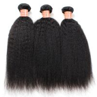 Indian Kinky Straight Virgin Hair Bundles
