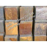 China multicolor slate stone paving,slate floor tiles