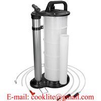 9L Manual Oil Fluid Extractor Changer Pump Vacuum Fuel Suction Car Boat Transfer Tank thumbnail image