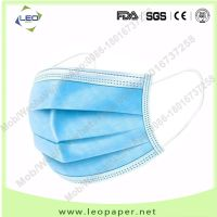 wholesalel 3ply mask disposable protective mask factory