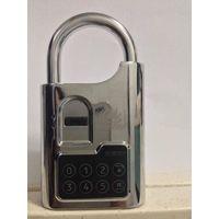 fingerprint password padlock