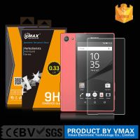 Japanese Asahi 9H 0.33mm Fingerprint-proof Tempered Glass Screen Protector for Xperia Z5 Compact