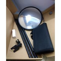 Under vehicle inspection mirror with long handle 158cm length 30cm width round type vehicle mirror thumbnail image