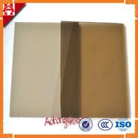 bronze colored reflective float glass price