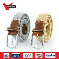 fashion elastic braided belts thumbnail image