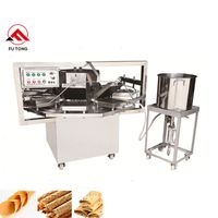 Wholesale Discount Biscuit Snack Machine Egg Wafer Roll Maker Waffle Ice Cream Cone Machine thumbnail image