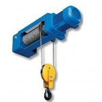 Pneumatical Foot Mounted Wire Rope Hoist WHF-B(2/1 Rope Reeving) thumbnail image