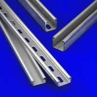 Perforated C Shaped Steel Strut Channel Profile