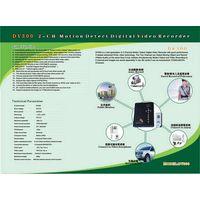 2 Channel Digital Motion Detect Recorder, Portable DVRs