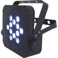 12*3W LED Battery Powered Flat Par Light Tri-color 3in1 thumbnail image