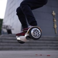 Fun Riding Hoverboard LED Light Balancing Scooter Bluetooth Hoverboard thumbnail image