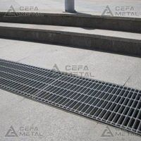 Drain Cover Rainwater Gully Cover Stainless Steel Gratings Manufacturers