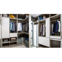White and Grey Galley Walk in Closet PLYJ17017-057 thumbnail image