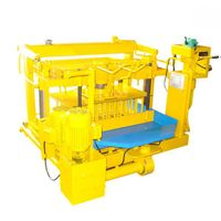 QMY4-30A earn money concrete block making machine
