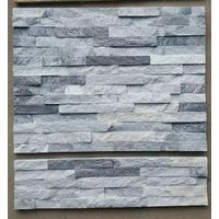 grey colour culture stone panel for wall cladding decoration
