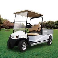 2-Seater Electric Golf Cart with Cargo Box thumbnail image