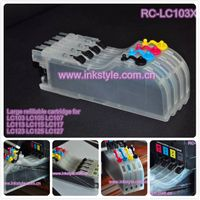 Large refillable cartridge for LC103 LC113 LC105 LC107 LC115 LC117 LC123 LC125