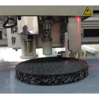 automobile car cushion mat carpet felt floor foot flatbed digital cutter table plotter machine