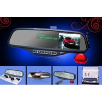 Bluetooth rearview mirror with packing camera ALD100