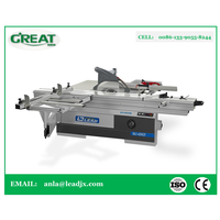 MJ-45KD Precision Table Saw Shenyang Precision Sliding Talbe Saw China wood cutting panel saw
