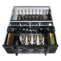 Q-409 12GPU Miner Mining machine system 12 GPU ETH Ethereum