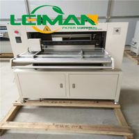 Truck air filter making machine knife type pleating machine
