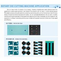 5 workstation rotary die cutting machine
