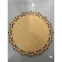 wood PVC coat colourful coaster,wood mat,wood cushion,wood craft gift,