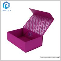 Cosmetics Paperboard Packing Box Rigid Paper Box Flated Pack Box