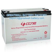security and alarm battery, 12v battery, emergemcy lighting battery, lead acid battery factory from
