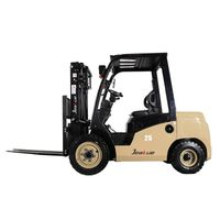 Hot Sale 2.5T Diesel Forklift with Imported Engine