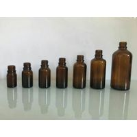 Essential oil glass bottles with amber color green color blue color thumbnail image