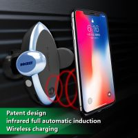 Wireless car charger with air vent car mount holder thumbnail image