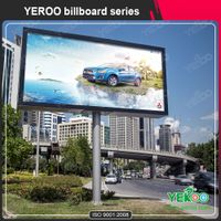 Super Quality City Outdoor Advertising Double-Side Backlit Billboard thumbnail image