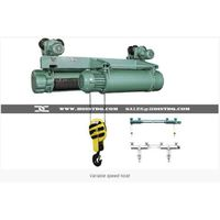 Variable speed hoist: MD/CD double speed wire rope hoist | Variable speed wire rope hoist