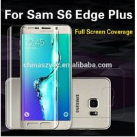 2015 New Design Full Cover Front and Back Anti Shock Screen Protectors for Samsung Galaxy S6 Edge Pl